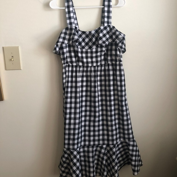 J. Crew Dresses & Skirts - J. Crew Midi Dress in Gingham